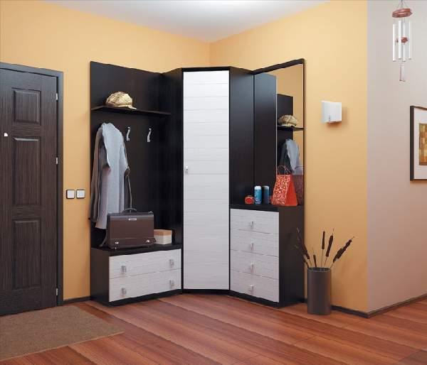 угловой шкаф в коридор, фото 25