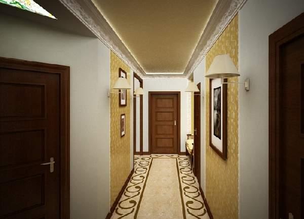 прихожая для узкого коридора дизайн фото, фото 19