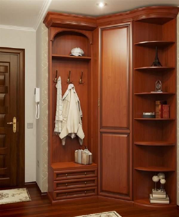 угловой шкаф в коридор фото, фото 26