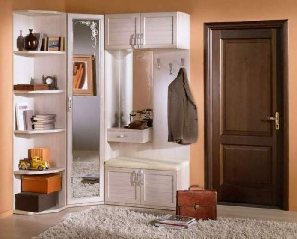 угловой шкаф в коридор фото, фото 28