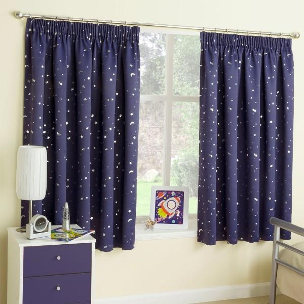 шторы в детскую комнату для мальчика короткие, фото 24