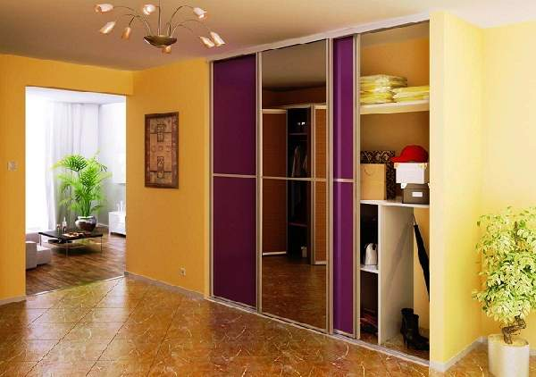 встроенный шкаф в коридоре, фото 13