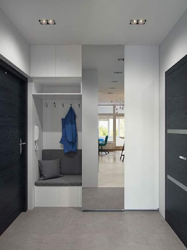 встроенный шкаф в коридоре, фото 15