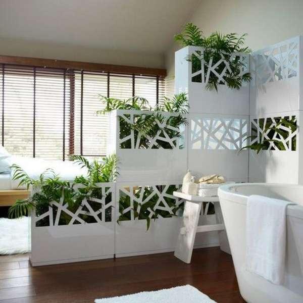 растения в интерьере спальни, фото 26