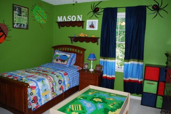 детская комната шторы для мальчиков дизайн фото, фото 29