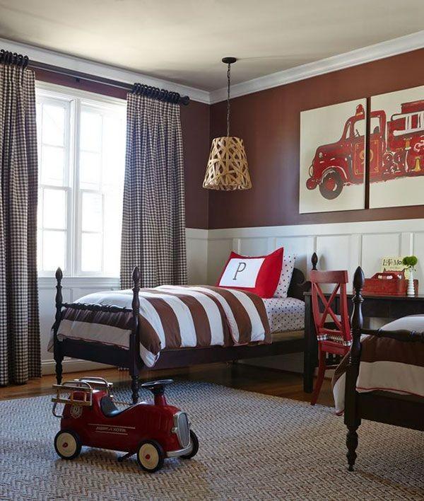 дизайн штор для детской комнаты для мальчика, фото 30