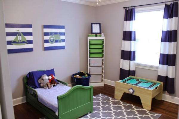 идеи штор для детской комнаты мальчика, фото 31