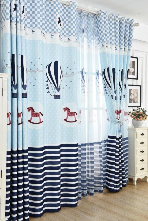 дизайн штор для детской комнаты для мальчика, фото 35