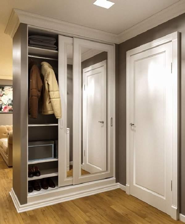 платяной шкаф в коридор, фото 34