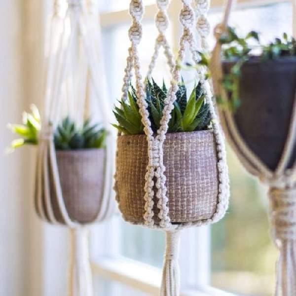 подвесные полки для цветов, фото 44