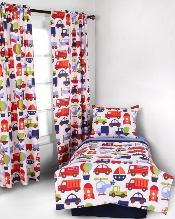 идеи штор для детской комнаты мальчика, фото 36