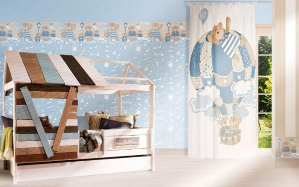 римская штора в детскую комнату для мальчиков, фото 37