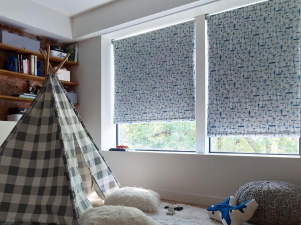 рулонные шторы в детскую комнату для мальчика, фото 39