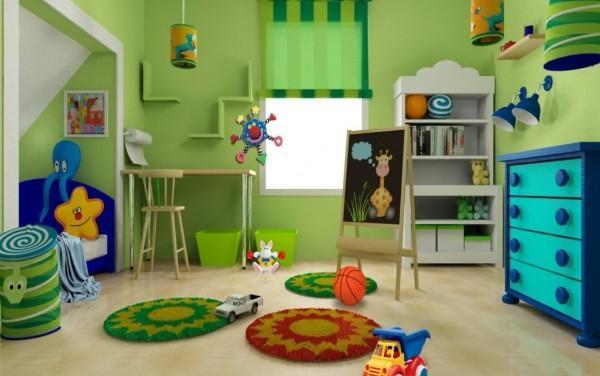 рулонные шторы в детскую комнату для мальчика, фото 40