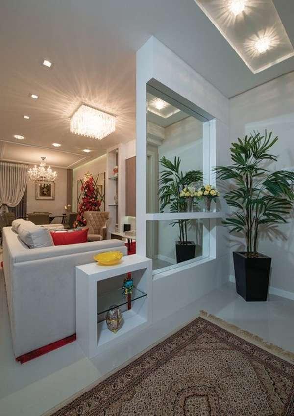 комнатные растения в интерьере гостиной, фото 22