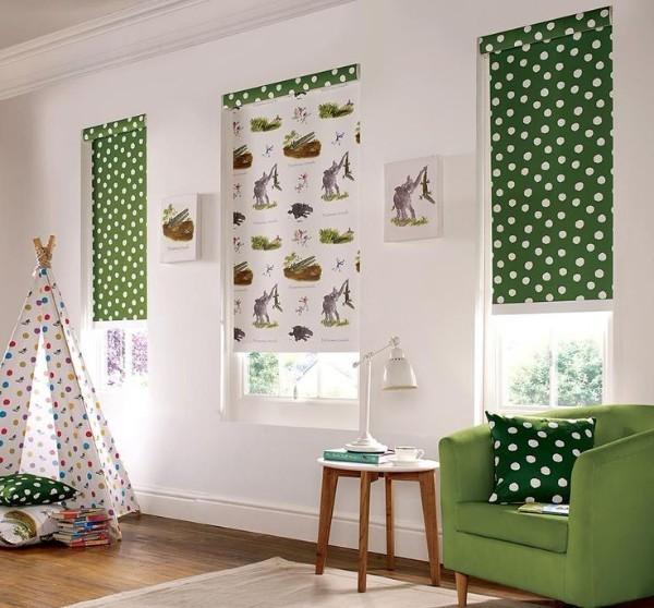 рулонные шторы в детскую комнату для мальчика, фото 43