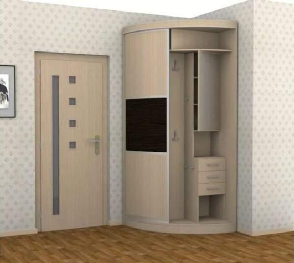 прихожие в коридор малогабаритные со шкафом купе, фото 12