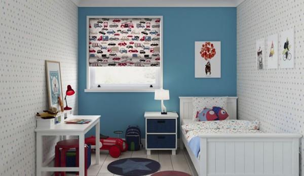 рулонные шторы в детскую комнату для мальчика, фото 46