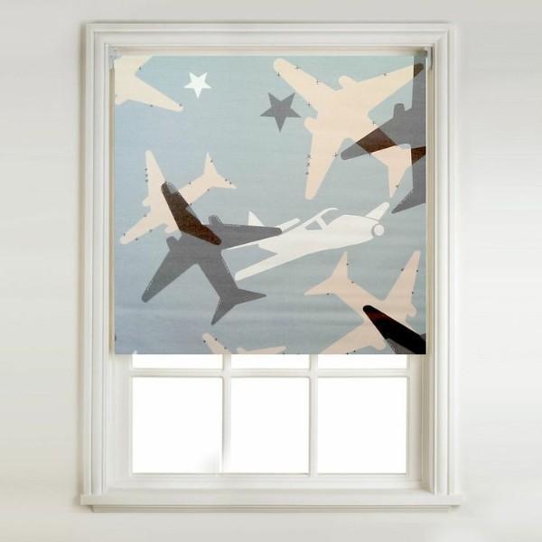 рулонные шторы в детскую комнату для мальчика, фото 49