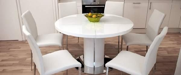 стол обеденный на одной ноге раскладной, фото 31