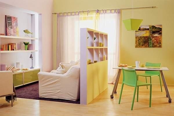 дизайн интерьера маленькой однокомнатной квартиры, фото 25
