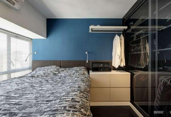 интерьер спальни в частном доме, фото 69