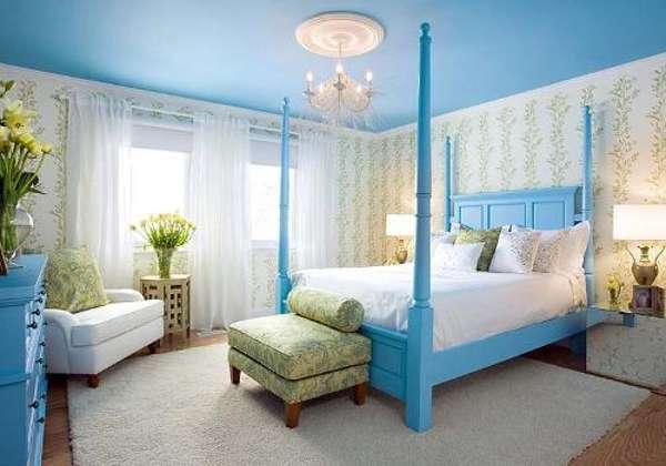 интерьер спальни кабинета, фото 70