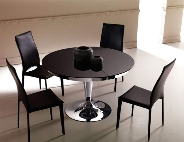 круглый раскладной стол для кухни, фото 16
