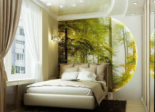 интерьер маленькой спальни, фото 14