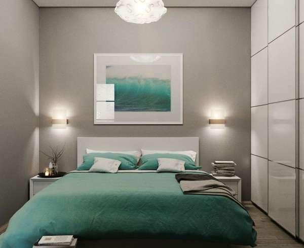 интерьер малогабаритной спальни, фото 10
