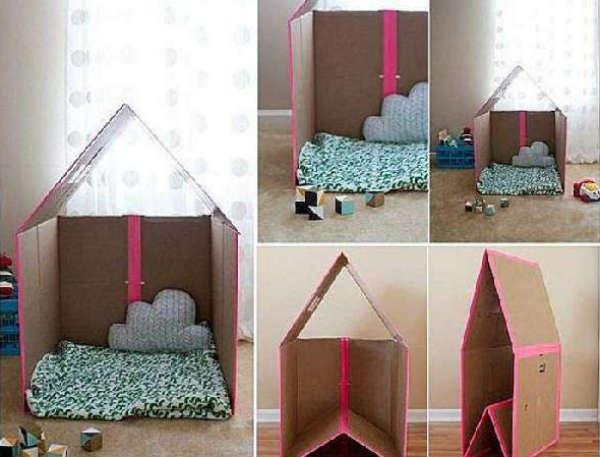 поделка домик своими руками, фото 11