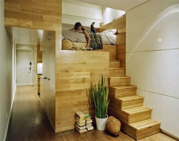 дизайн интерьера маленькой однокомнатной квартиры, фото 33