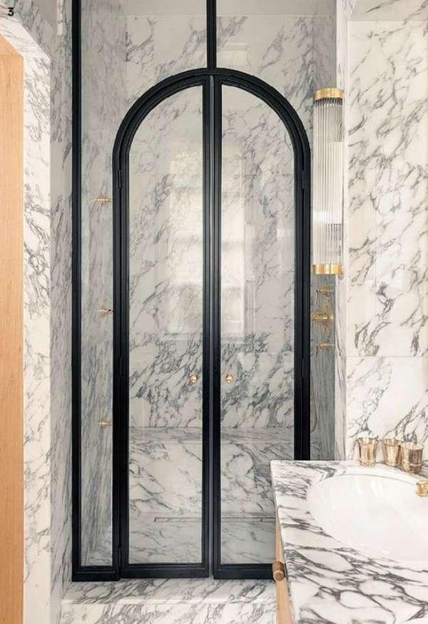 дверь в душ распашная, фото 16