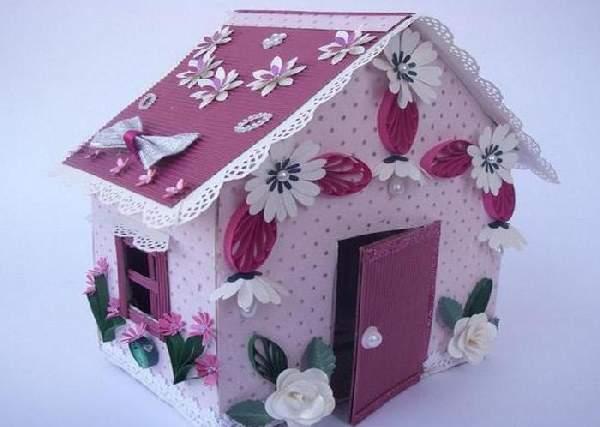 поделка домик своими руками, фото 13