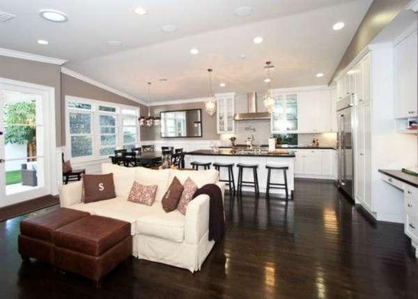 дизайн кухни гостиной, фото 1