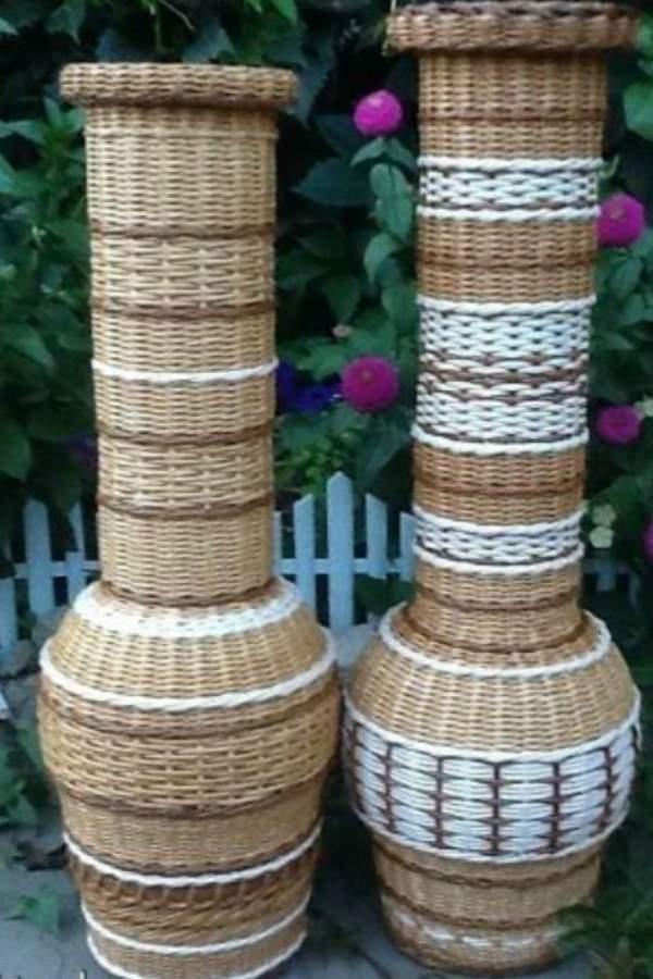 напольная ваза своими руками из трубы, фото 64