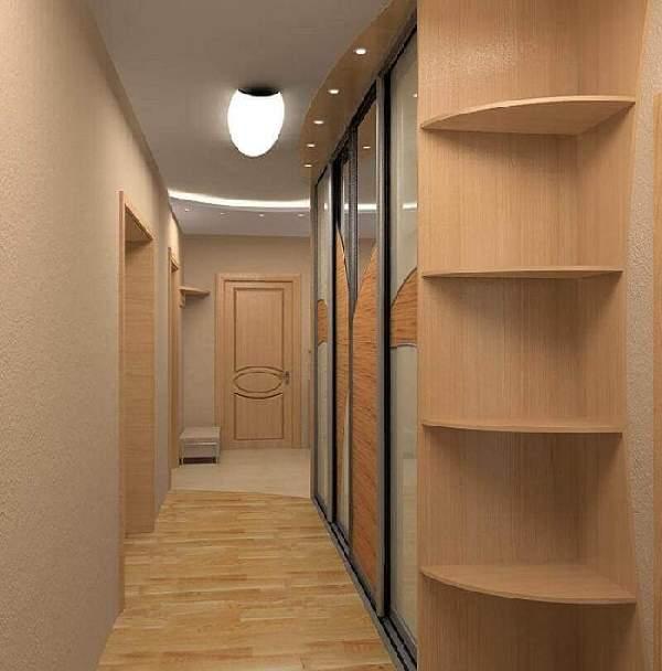 прихожая для узкого коридора в хрущевке фото, фото 8