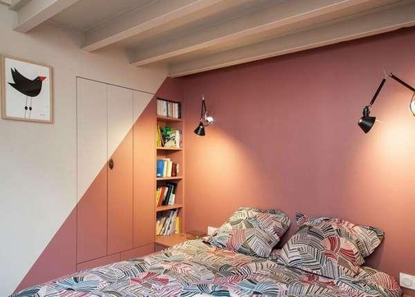 интерьер спальни 2018, фото 5