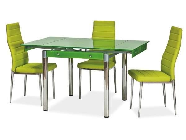 стол кухонный стеклянный раскладной, фото 53