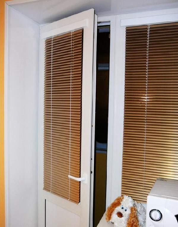 жалюзи на двери горизонтальные, фото 33