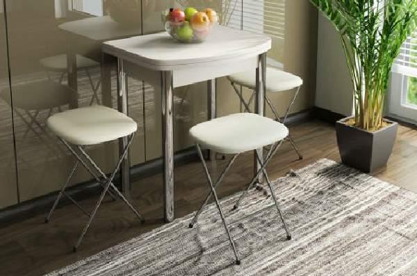 стол кухонный раскладной для маленькой кухни, фото 33