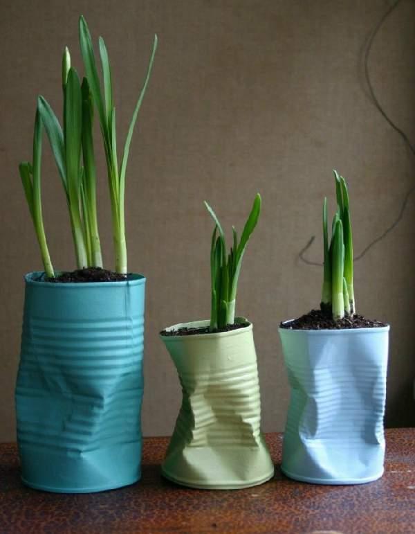 как сделать напольную вазу своими руками, фото 17