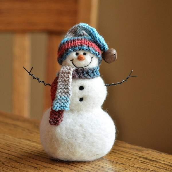 поделка снеговик своими руками, фото 29