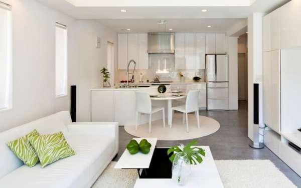 дизайн кухни гостиной в современном стиле фото, фото 27