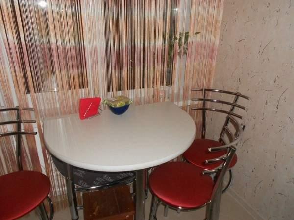 стол кухонный круглый раскладной, фото 21