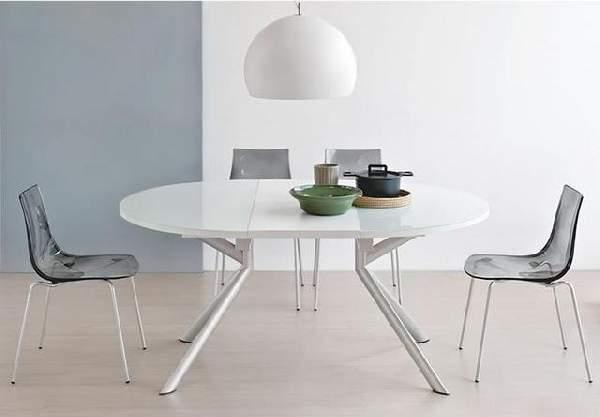 стол обеденный стеклянный раскладной, фото 37