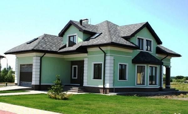 современный фасад дома, фото 28