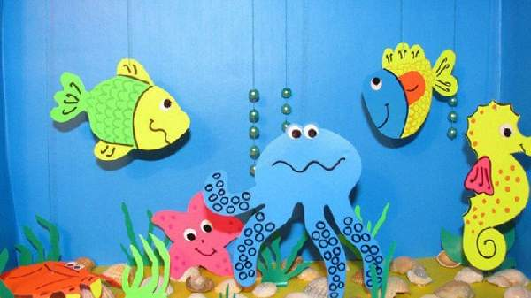 поделки для детей детского сада своими руками, фото 42