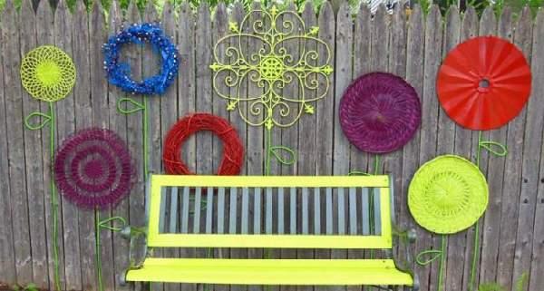 поделки для сада и огорода своими руками, фото 51