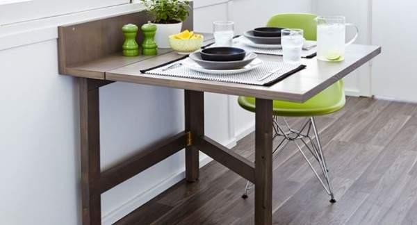 стол кухонный раскладной деревянный, фото 11